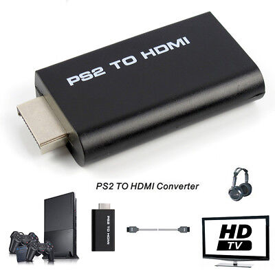 Sony Playstation 2 PS2 to HDMI Converter Adapter Adaptor Cable HD USB PSX PS4