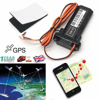 Mini Hidden GSM GPS GPRS Tracker Locator Car Motorcycle Tracking Device Realtime