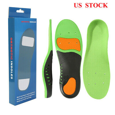 d4ad061d77 Orthotic Shoe Insoles Flat Feet Foot High Arch Gel Support Inserts Pad Foot  Care