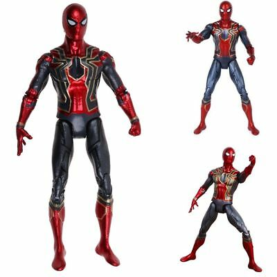 Avengers 3 Infinity War Iron Spiderman 17cm Spider-Man Action Figure IT