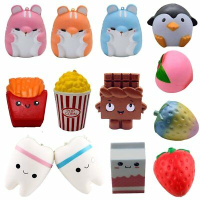 Jumbo Slow Rising Squishies Scented Charms Kawaii Squishy Squeeze Toy gR