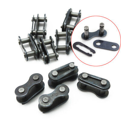 10x Useful Chain Connector Black Link Joint for Bicycle Mountain Bike MTB XSK
