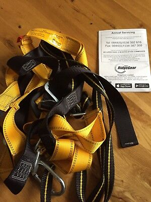 Ridgegear Front Rear D Harness RGH2 One Size Fits All Safety Equipment