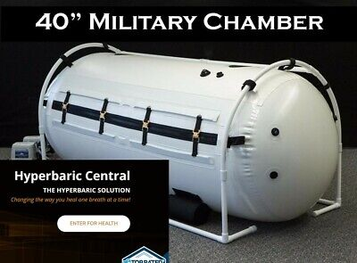 40 in Hyperbaric O2 Chamber Spacious Enough for 2 Adults Best Known Chamber