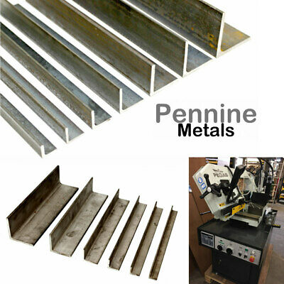 Steel ANGLE Iron - STAINLESS or MILD STEEL Bandsaw Cut Lengths UK Metal Seller