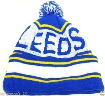 Leeds Hat Pom Pom Bobble Hat