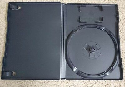 PS2 empty box BLACK/NAVY BLUE Official Sony PlayStation 2 game case
