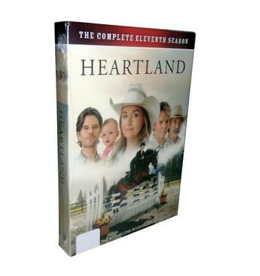 Heartland Season 11 (DVD, 2018, 5-Disc Set) New free shipping