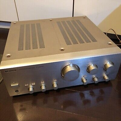 Used SANSUI AU-α607MR Integrated Pre Main Amplifier from EMS F/S from JAPAN