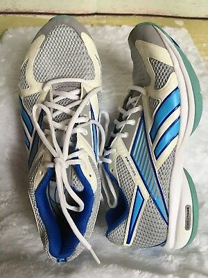 bb1e28222784f Reebok SimplyTone Womens Size 8.5 Wide white Blue Smooth Fit play dry Shoes