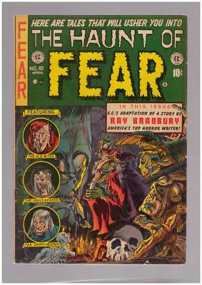 Haunt of Fear # 18  Ghastly Old Witch Cover !  grade 4.5 scarce EC book !