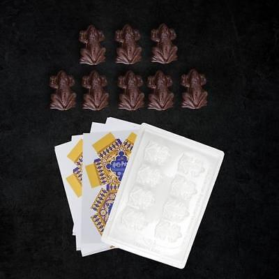 Harry Potter - Chocolate Frog Mold and 8 DIY Paper Boxes - New & Official In Box