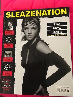 Sleazenation Magazine- September 2002   Used but Excellent Condition