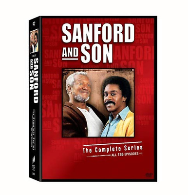 Sanford and Son The Complete Series Box Set Redd Foxx DVD NR Comedy 17 Disc NEW