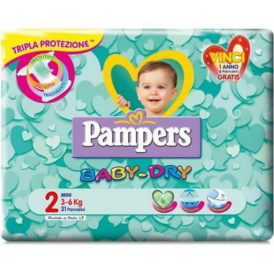 Pampers Pannolini Baby Dry Varie Misure