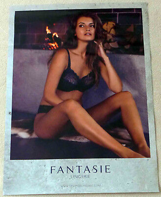 Affiche Lingerie fantasie Poster 70x50 NEUF