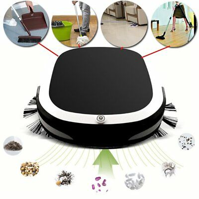 Rechargeable Smart Robot Vacuum Cleaner Dry Wet Sweeping Auto Dust Sweeper tt