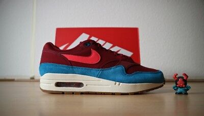 NIKE AIR MAX 1 'Team Red Green Abyss' EU 43 US 9.5