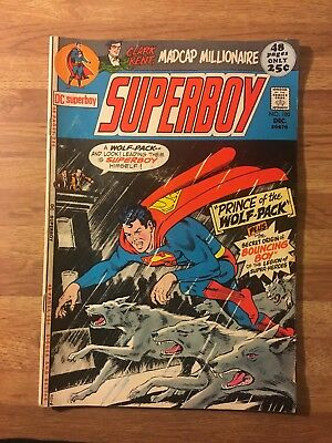 Superboy #180 (DC 1971) Superman~Clark Kent~Origin of Bouncing Boy~48 Page Giant