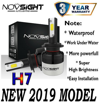Novsight Car 72W 9005 / 9006 / H4 / H11 / H7 LED Headlight KIT 6500K Bulbs White