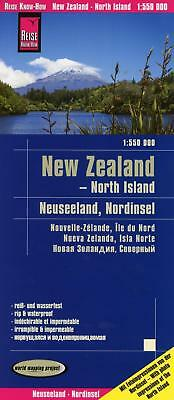 Reise Know-How Landkarte Neuseeland, Nordinsel 1:550.000 world mapping project
