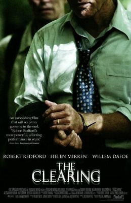 THE CLEARING - D/S 27x40 Original Movie Poster One Sheet Robert Redford 2004