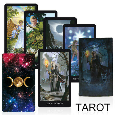 read the mythic fate divination 78 fortune Tarot Deck Cards guidance English