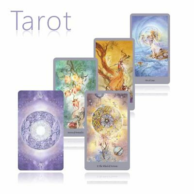 Knowledge Oracle Divination Card 78 beauty Tarot Cards guidance English for girl