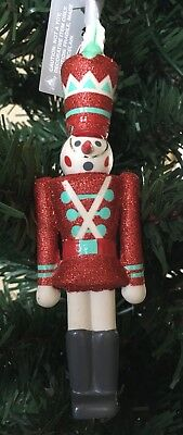 Disney Parks 2018 It's A Small World Toy Soldier Christmas Ornament NEW