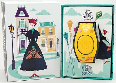 New Disney Parks Mary Poppins Returns MagicBand 2.0 Limited Edition 1500