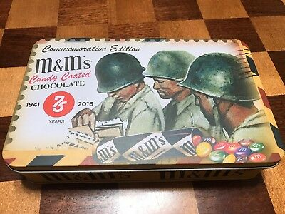 M&M's Military Tin Can.
