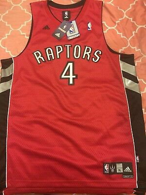 NWT Men s XXL Toronto Raptors NBA Adidas Swingman Jersey  4 Chris Bosh 83b8860fd