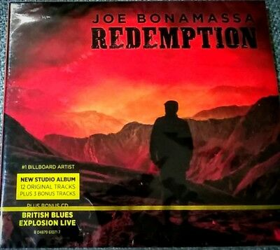 JOE BONAMASSA - REDEMPTION plus bonus CD British Blues Explosion Live (2CD set)