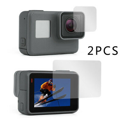 LCD Lens Tempered Glass Film Screen Protector For GoPro Hero 5 6 7 Camera