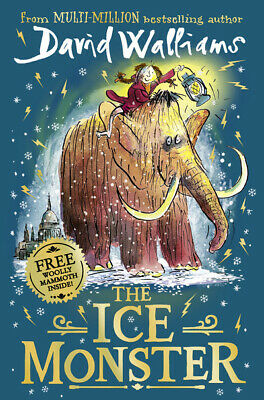 The ice monster by David Walliams (Hardback) Incredible Value and Free Shipping!