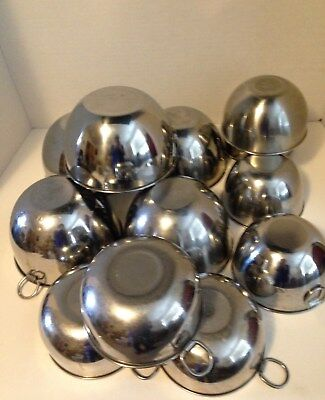 Revere Ware Mixing Bowls-Stainless Steel-Various Sizes-You Choose-Vintage