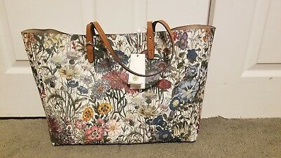 3ab4018abfe TORY BURCH KERRINGTON Square Tote Melody Floral -  179.99