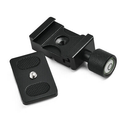 "1/4"" Mount Clamp Quick Release Plate For Benro Arca Swiss Tripod K30 Brand New"
