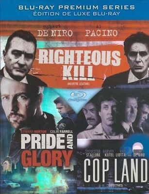 Righteous Kill / Pride And Glory / Cop Land (Bili Neuf Bleu