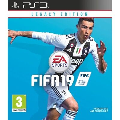 FIFA 19 Legacy Edition PS3 New PS3
