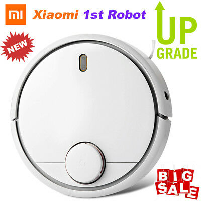 Xiaomi Mi Robot 1st Smart Vacuum Cleaner Automatic Dust Cleaning 5200mAh LDS App