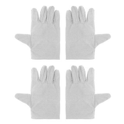 2 Pairs Finger Welding Gloves Heat Shield Guard Protection Gear For Weld Monger