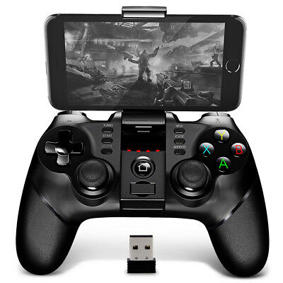 iPega PG- 9076 Bluetooth Gamepad with Bracket 2.4G Wireless Receiver for Android