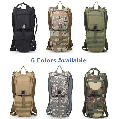 Men Bag Backpack Rucksack Tactical Hydration Military  Day Backpack Water Bags