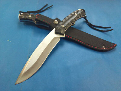 Hot Top Sharp Full Tang Outdoor Survival Hunting Bowie Utility Military Knife