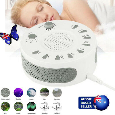 Baby Noise Sound Machine Sleep Aid Natural Soothing Hypnosis White Noise Toy F4