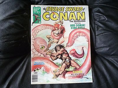Savage Sword of Conan # 23 excellent condition