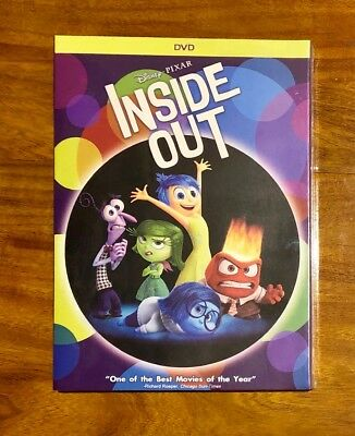 Inside Out Disney's and Pixar's Brand New DVD Free First Class Shipping