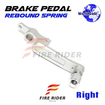 Silver Rear Brake Pedal Lever Adjustable For 1299 Panigale 15-17 15 16 17