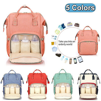 Maternity Bag Baby Nappy Diaper Changing Backpack Mummy Rucksack Travel Bag